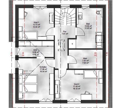 Massive Wohnbau - EFH Emma Floorplan 2