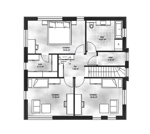 Massive Wohnbau - Stadtvilla 2 Floorplan 2