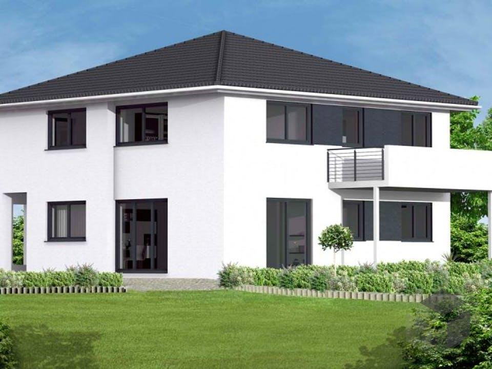 Stadtvilla 5 von Massive Wohnbau Außenansicht