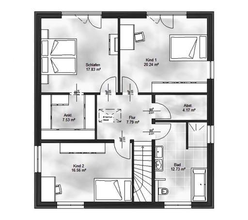 Massive Wohnbau - Stadtvilla 7 Floorplan 2