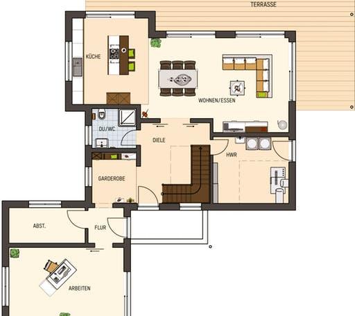 Maxim - Musterhaus Gießen Floorplan 1