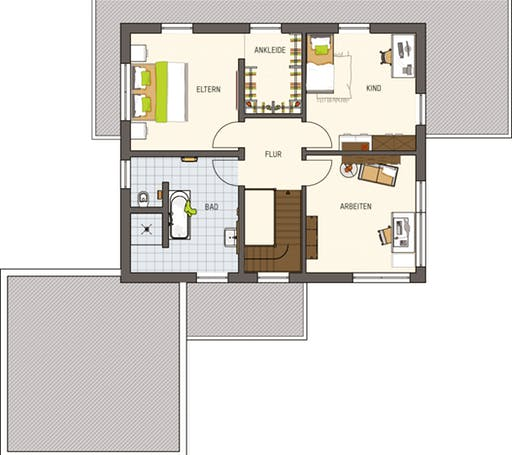 Maxim - Musterhaus Gießen Floorplan 2