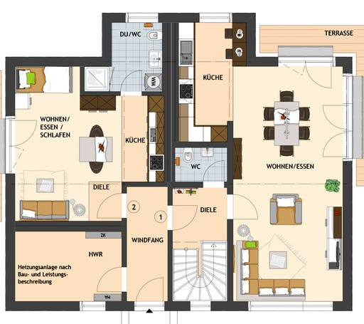 Maxim 2 Floorplan 1