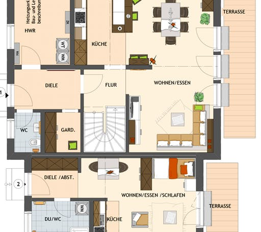 Maxim 7 Floorplan 1
