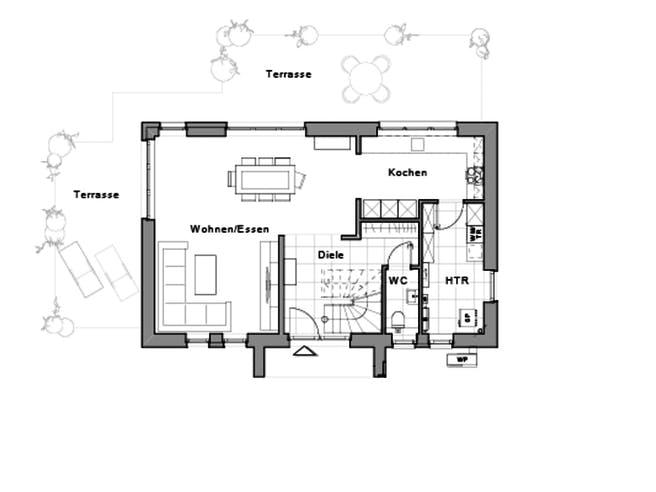 Maxime 120 von Viebrockhaus Grundriss 1