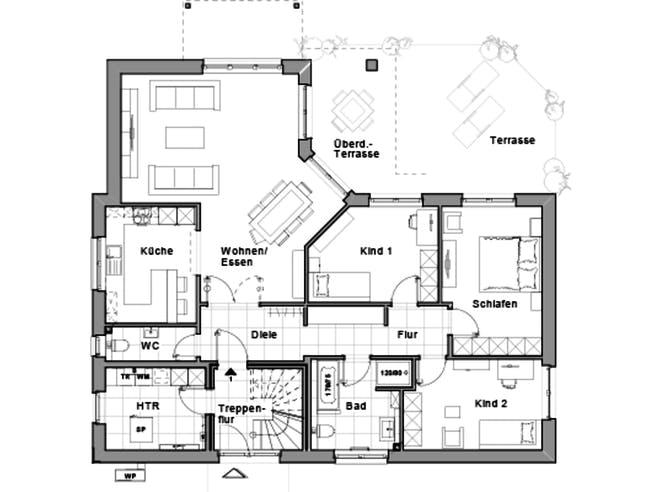 Maxime 530 Z von Viebrockhaus Grundriss 1