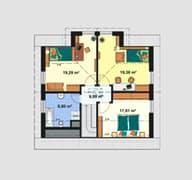 Einfamilienhaus Maxx 3/3 Grundriss