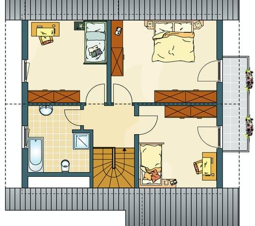 MEDLEY 200 B (Musterhaus Frankenberg) floor_plans 0