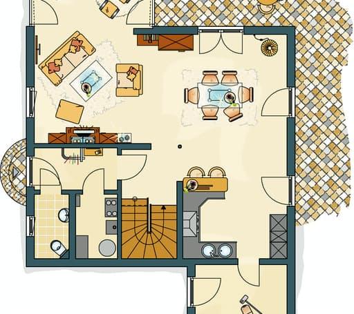 MEDLEY 200 B (Musterhaus Frankenberg) floor_plans 1
