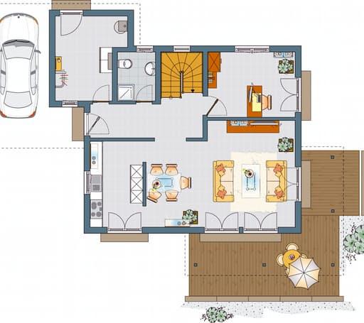 MEDLEY 300 B (Musterhaus Kassel) floor_plans 0