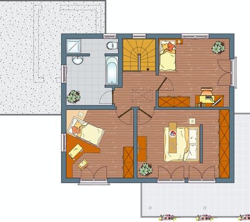 MEDLEY 300 B (Musterhaus Kassel) floor_plans 1