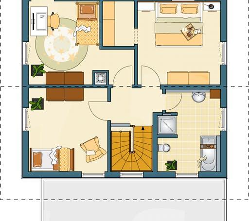 medley 210 a einfamilienhaus mit holzverschalung von fingerhaus komplette daten bersicht. Black Bedroom Furniture Sets. Home Design Ideas