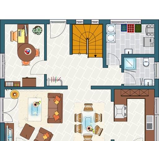 MEDLEY 3.0 - Musterhaus Erfurt Floorplan 1