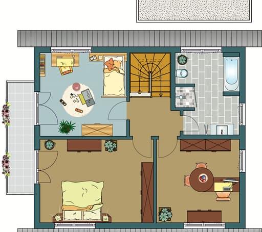 MEDLEY 3.0 - Musterhaus Erfurt Floorplan 2