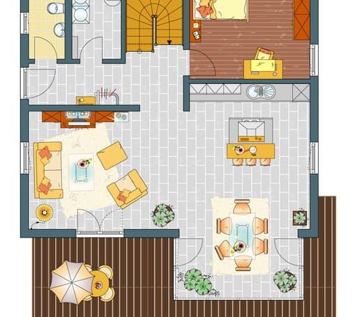 MEDLEY 3.0 300B W - Musterhaus Nürnberg Floorplan 1