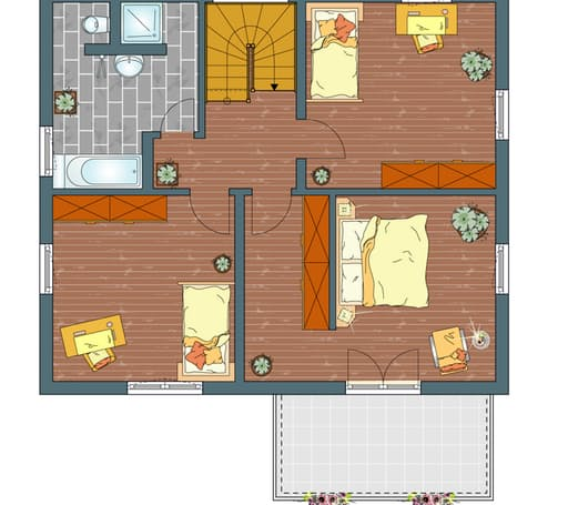 MEDLEY 3.0 300B W - Musterhaus Nürnberg Floorplan 2