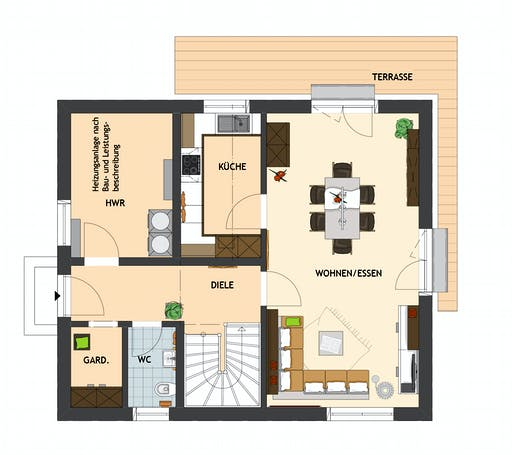 MEDLEY 3.0 102 A S100 Floorplan 1