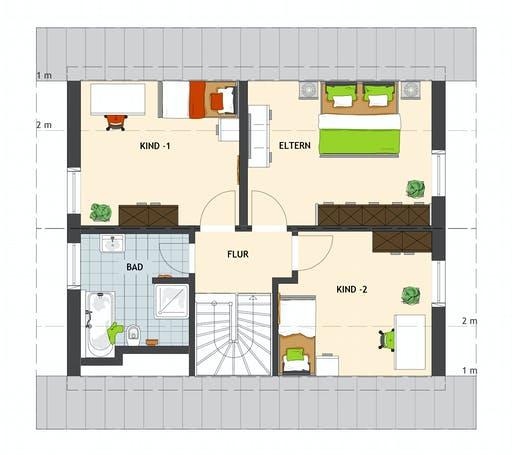 MEDLEY 3.0 102 A S100 Floorplan 2