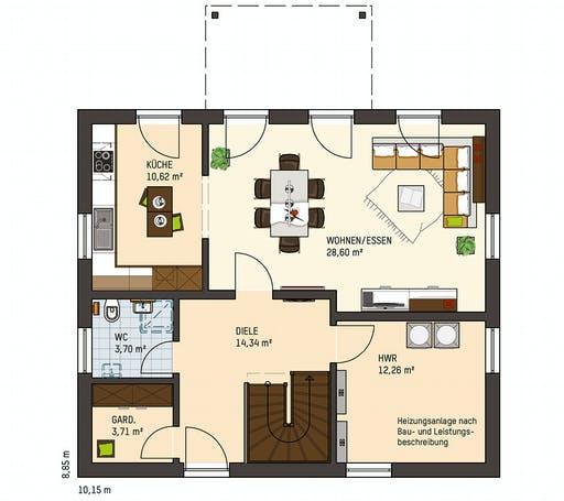 MEDLEY 3.0 211 W SE Floorplan 1