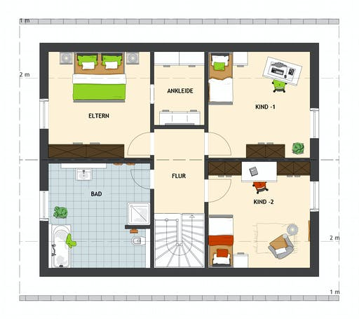 MEDLEY 3.0 410 B S160 Floorplan 2