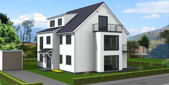 4 familienhaus bauen fertighaus format 5 480 von favorit massivhaus komplette daten bersicht. Black Bedroom Furniture Sets. Home Design Ideas