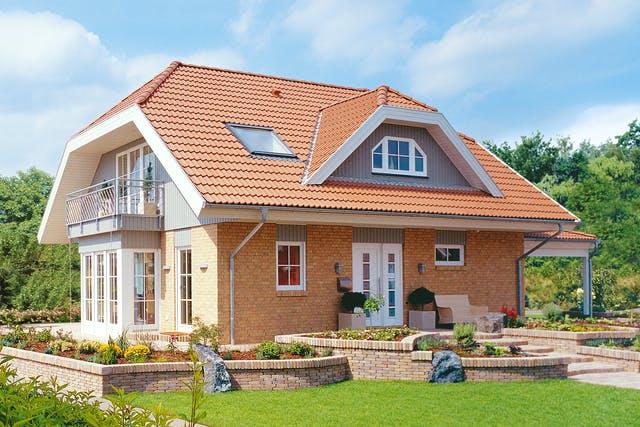 Landhaus mit Klinkerfassade