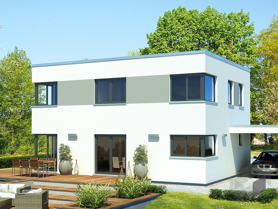 Mein Bauhaus von Meisterstück-HAUS Außenansicht