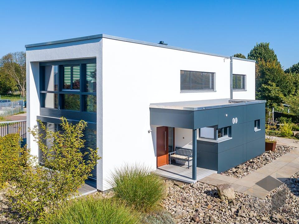 Musterhaus Hameln Box von Meisterstück-HAUS Außenansicht