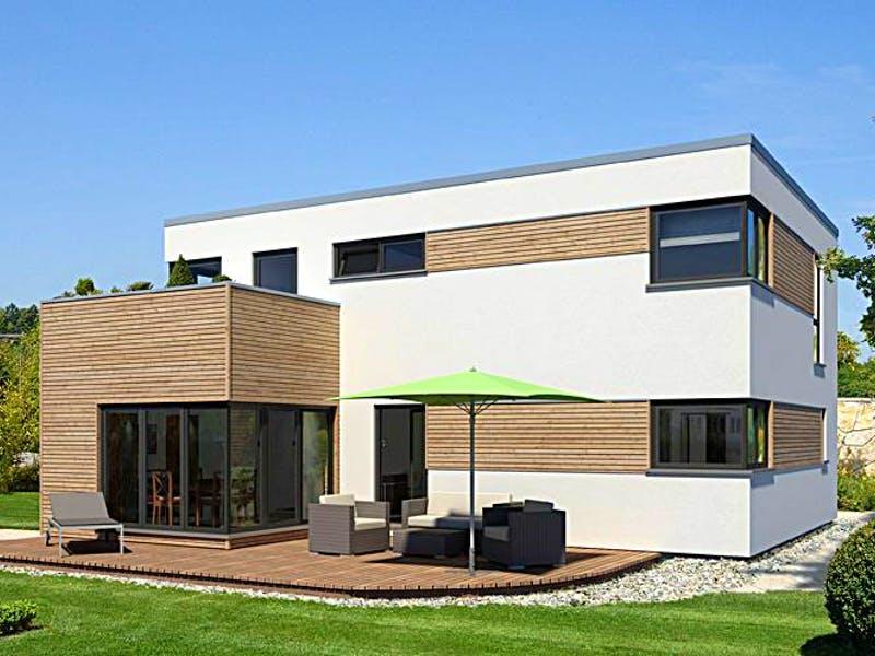 Modernes Kubushaus von Meisterstück-HAUS