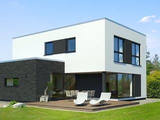 x-black 2 – Bauhaus-Villa von Meisterstück-HAUS Außenansicht 1