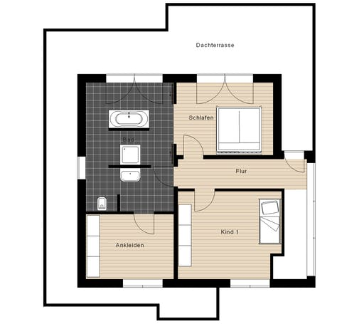 Meisterwerk - Flachdach210 Floorplan 2