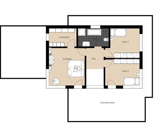 Meisterwerk - Flachdach238 Floorplan 2