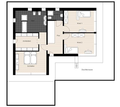 Meisterwerk - Flachdach250 Floorplan 2