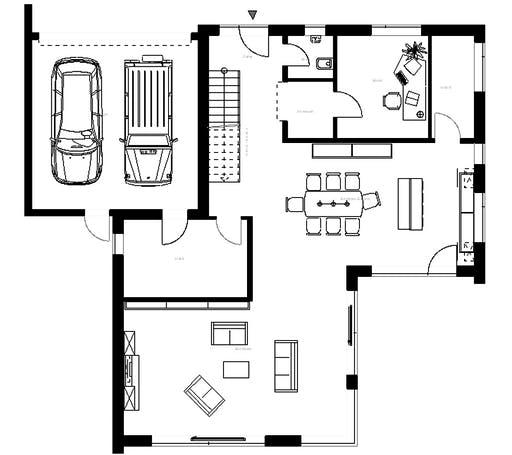Meisterwerk - Flachdach282 Floorplan 1