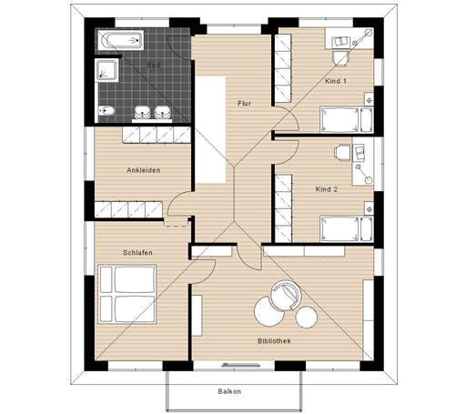 Meisterwerk - Walmdach234 Floorplan 2