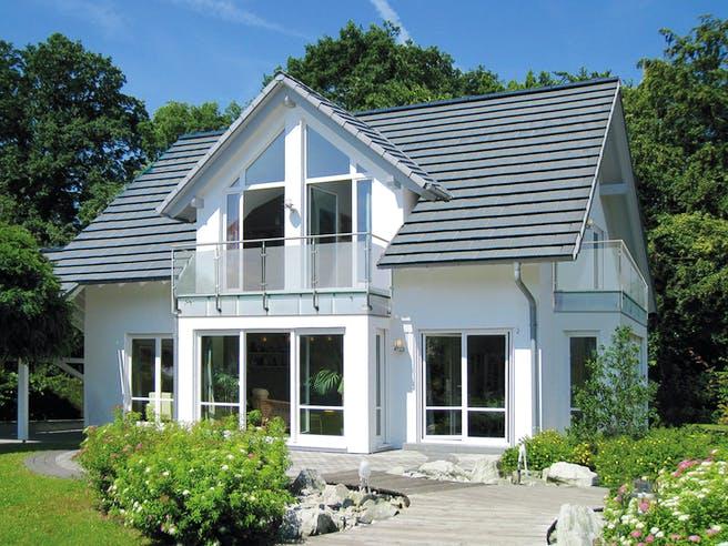 Musterhaus Bad Vilbel von Meisterstück-HAUS Außenansicht 1