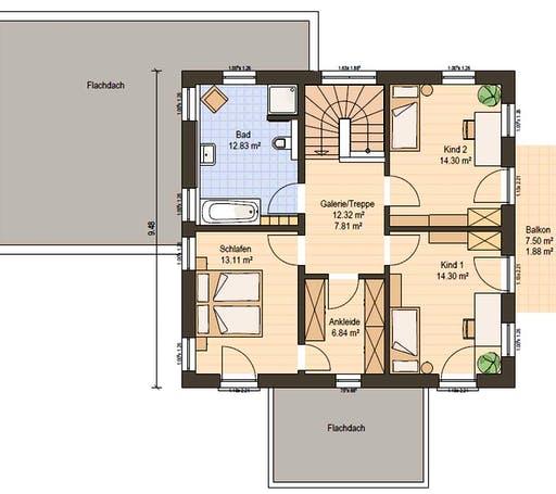 Haas MH Falkenberg 150 Floorplan 4
