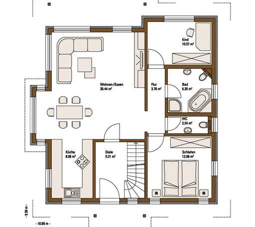 Family Classic MH Fellbach Floorplan 1