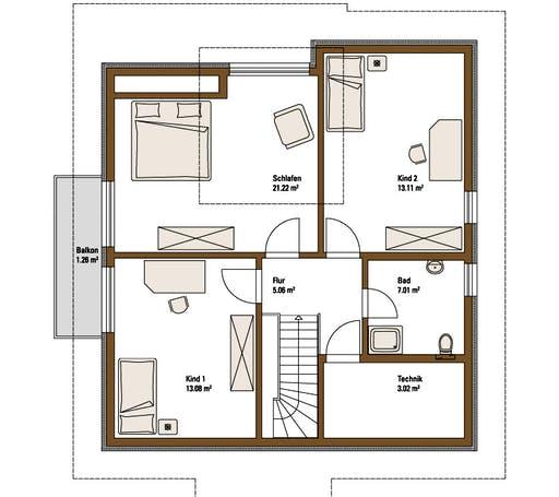 Family Classic MH Fellbach Floorplan 2
