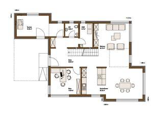 Musterhaus FUTURE Grundriss