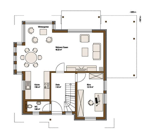 Family MH Mannheim Floorplan 1