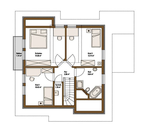 Family MH Mannheim Floorplan 2