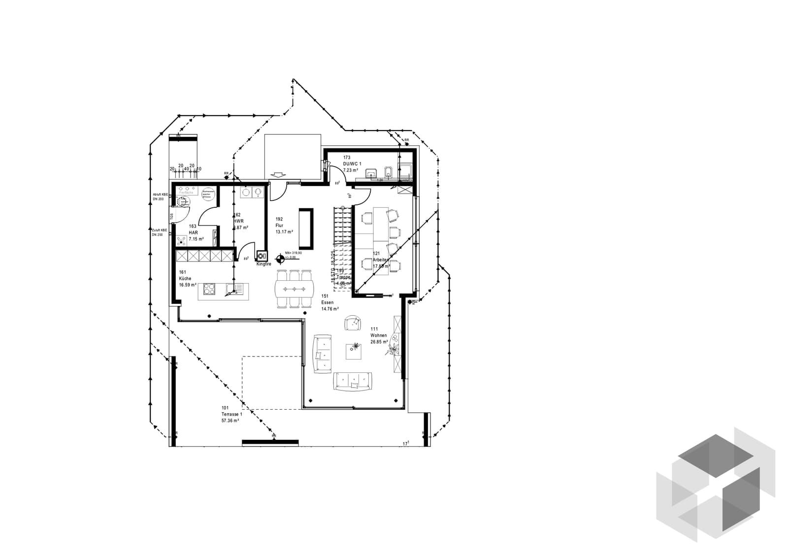 mh wuppertal von okal haus komplette daten bersicht. Black Bedroom Furniture Sets. Home Design Ideas