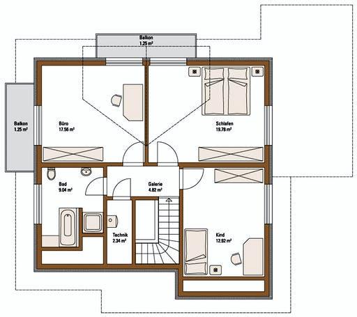 FH Weiss - Musterhaus BAD VILBEL Floorplan 2