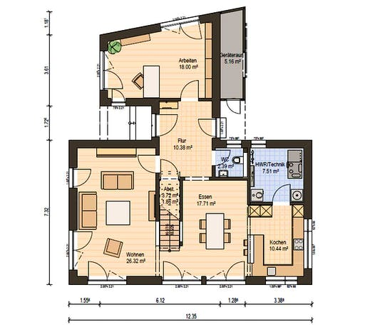 Haas MH Bad Vilbel J 142 Floorplan 3