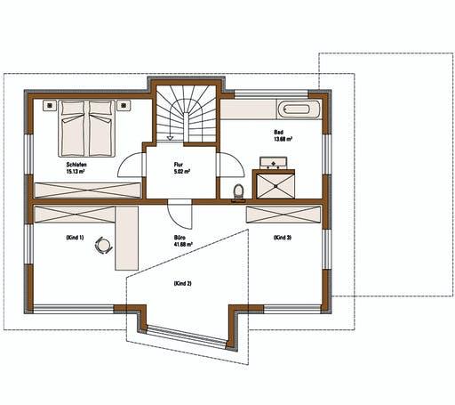 FH Weiss - Musterhaus ERLANGEN Floorplan 2