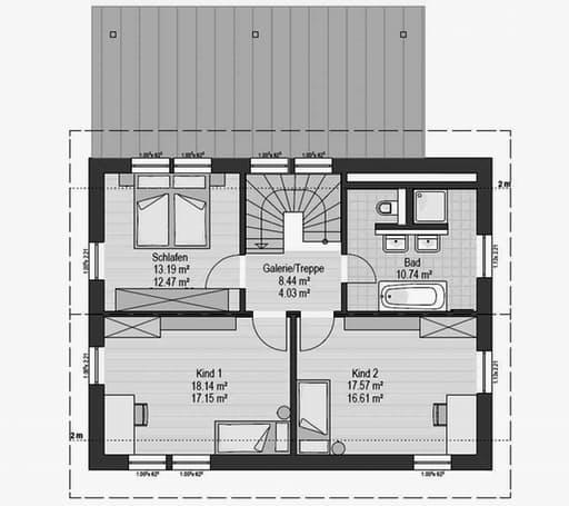 Musterhaus Falkenberg 150 Floorplan 2