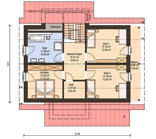 Haas MH Falkenberg 160 Floorplan 4