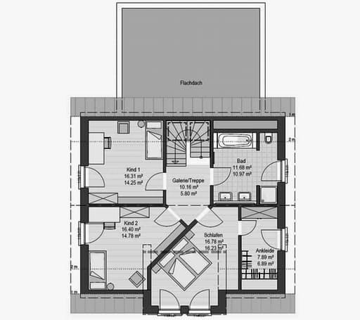 Musterhaus Fellbach 163 Floorplan 2