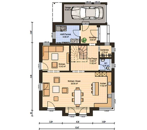 Haas MH Fellbach 163 Floorplan 3
